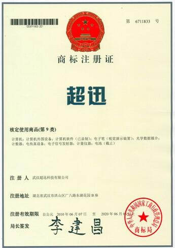 vwin德赢官方首页®商标注册证书